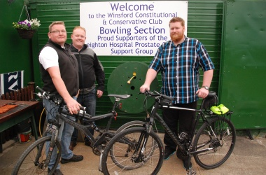 Boys Canal Bike Ride in Aid of Prostate Cancer