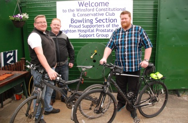 Boys Canal Bike Ride raises £2,400 for Prostate Cancer