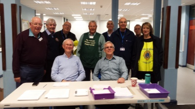 CPCSG volunteers  and Cheltenham and Gloucester Lions