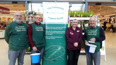 Thanks to Sainsbury's, Stroud, for having CPCSG as their Charity of the Year!