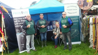 CPCSG gazebo at Frampton Show 2017