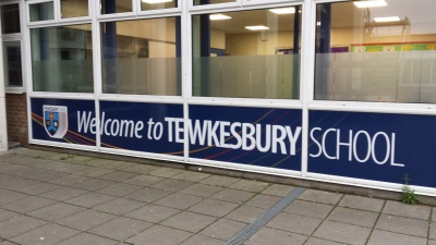 Thank you Tewkesbury School