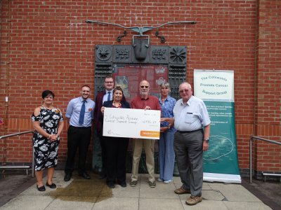 CPCSG has been Charity of the Year at Sainsbury's Stroud! Thank you Sainsbury's!